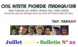 Bulletin 22juillet 2018